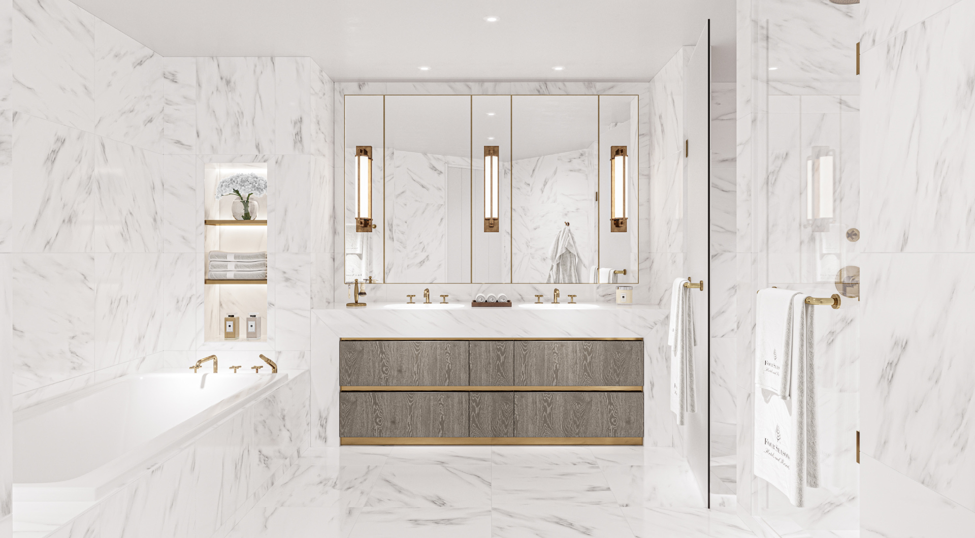 Four Seasons Fort Lauderdale Private Residence Bathroom